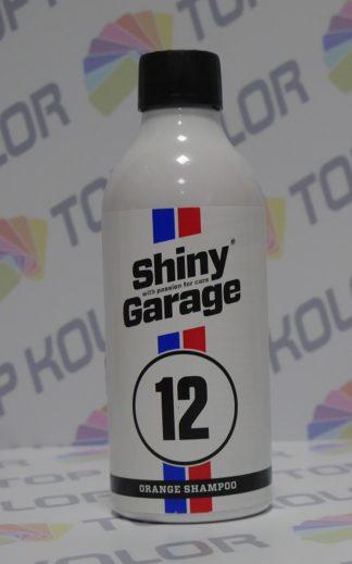 Orange Car Shampoo Szampon 500ml Shiny Garage