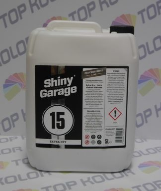 Extra Dry czyszczenie tapicerki, podsufitki, tzw na sucho 5L Shiny Garage