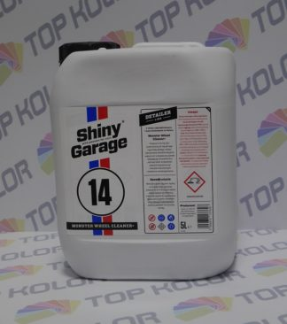 Monster Wheel Cleaner do czyszczenia felg, krwawa felga 5L Shiny Garage