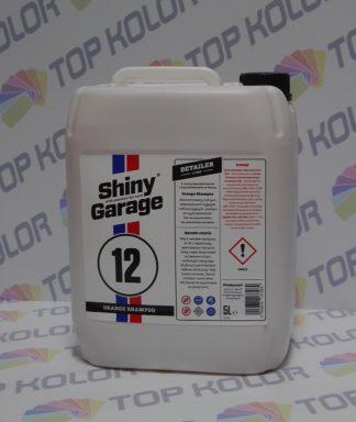 Orange Car Shampoo Szampon 5L Shiny Garage