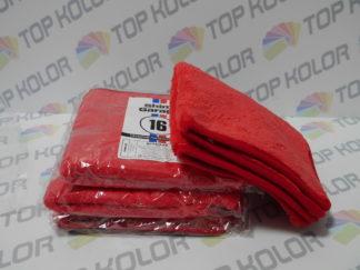 Mikrofibra Shiny Garage Red Finisher Plush do wykańczania wosków