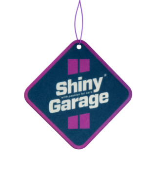 Square Air Freshener Jagody Zimą zapach Shiny Garage