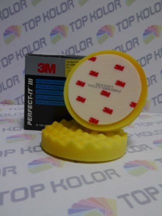 3M Gąbka polerska 50488 żółta do Extra Fine – 150 mm