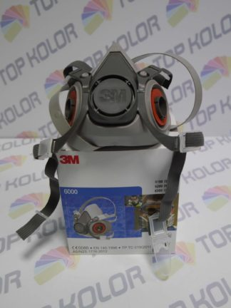 3M Maska 6000 Półmaska lakiernicza przeciwpyłowa rozm L