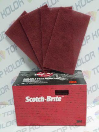 3M Włóknina ścierna Scotch-Brite Durable Flex 64660 bordowa