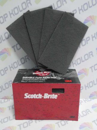 3M Włóknina ścierna Scotch-Brite Durable Flex 64660 szara