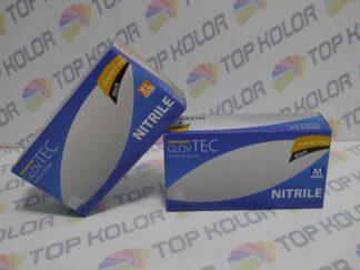 GlovTec Rękawiczki nitrylowe czarne op 100szt M, L, XL