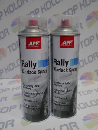 APP Rally Lakier akrylowy bezbarwny spray 500ml
