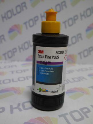 3M 80349 Extra Fine Plus Compound żółty korek Mleczko polerskie 250ml