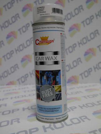 Champion Car WAX wosk profile zamknięte spray