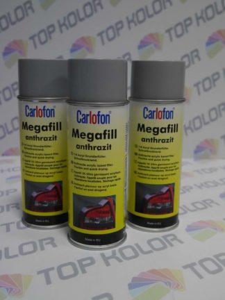 Carlofon Megafill anthrazit podkład spray szary 400ml