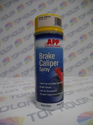 APP Brake Caliper Spray na zaciski hamulcowe żółty 400ml