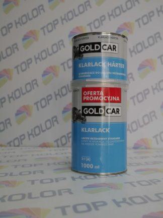 GoldCar Lakier bezbarwny Standard 1L + 0,5L utw