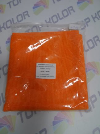 Mikrofibra N286 Orange Cobra 40×40 gramatura 380g/m2