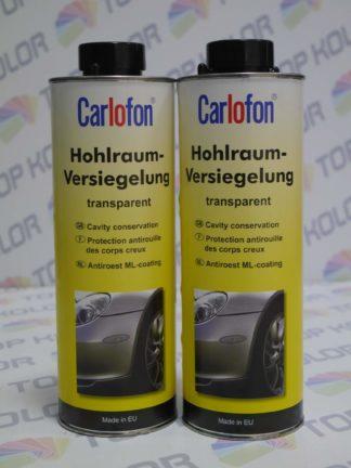 Carlofon Środek do konserwacji profili zamkniętych transparentny Hohlraum Versiegelung 1L