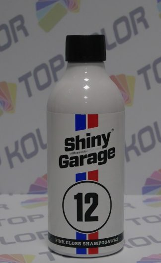 Pink Gloss Shampoo Szampon 500ml Shiny Garage