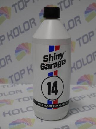 Pure Black Tire Cleaner czyszczenie opon, dywaników, gumy 1L Shiny Garage