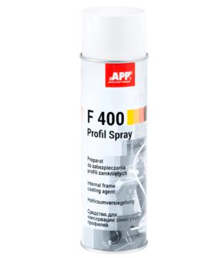 APP F400 profile zamknięte spray przezroczysty 500ml