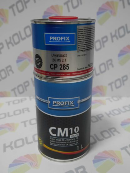 Profix CM10 Lakier bezbarwny matowy MS 2:1 1L+0,5L utw 2K