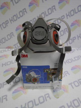 3M Maska 6000 Półmaska lakiernicza przeciwpyłowa rozm M
