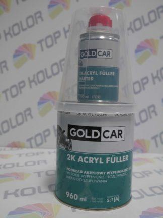 GoldCar Podkład Acryl Fuller wypełniający 2K 960ml szary