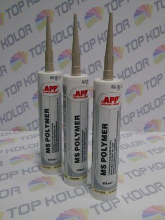 APP MS Polymer Polimerowa masa natryskowa kolor beż ral 1015 310ml