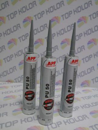 APP PU50 Poliuretanowa masa klejąca-uszczelniająca szara 310ml