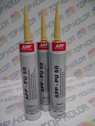 APP PU50 Poliuretanowa masa klejąca-uszczelniająca żółta 310ml