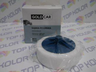 GoldCar Gąbka polerska gwint M14 biała 150/50