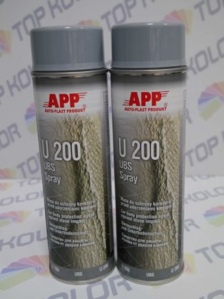 APP U200 Preparat do ochrony karoserii Baranek spray 500ml szary