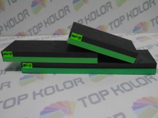 Urban Klocek szlifierski piankowy czarno-zielony 140 mm x 75mm
