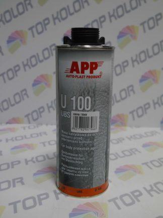 APP U100 UBS Preparat do ochrony karoserii 1kg czarny