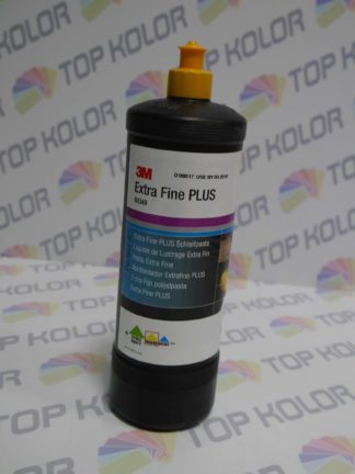 3M 80349 Extra Fine Plus Compound żółty korek Mleczko polerskie 1l