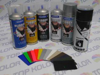 Maston Rubber comp. Guma w sprayu czarna 400ml