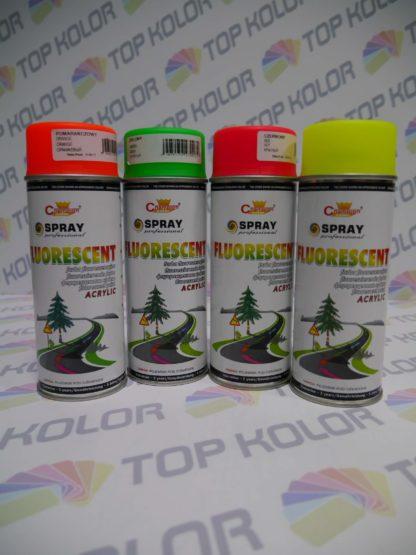 Champion Fluorescent spray 400ml pomarańczowy