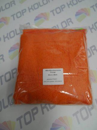Mikrofibra Orange N284 40cm x 40cm bezszwowa gramatura 500g/m2