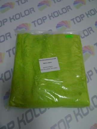 Mikrofibra N296 Green 40cm x 40cm gramatura 800g/m2