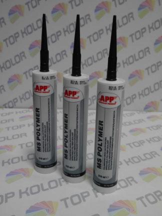APP MS Polymer Polimerowa masa natryskowa kolor czarny 310ml