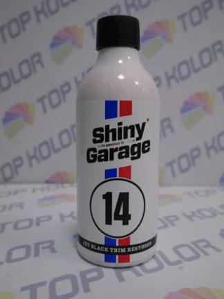 Shiny Garage Jet Black plastiki zewnętrzne 500ml