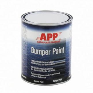 APP Bumper paint lakier strukturalny do zderzaków czarny 1L